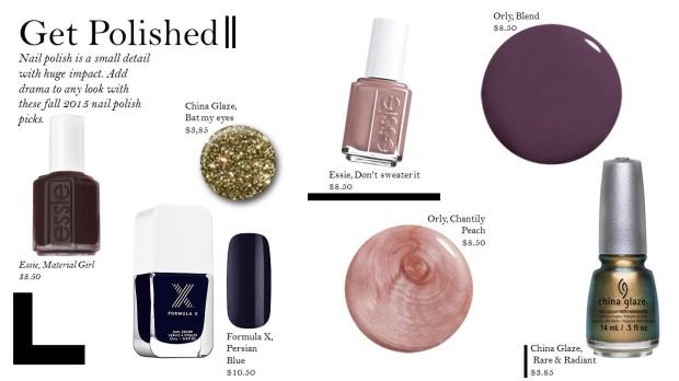 Nail polish Trends